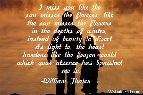 sun missing  quote