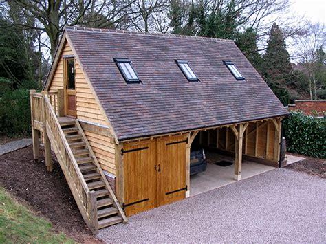 l shaped garage garage traditional with apartment above oak framed garages by shires oak buildings