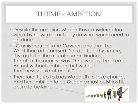 macbeth themes and supporting quotes macbeth revision