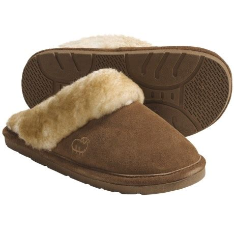 lamo womens slippers lamo sheepskin scuff slippers for save 35