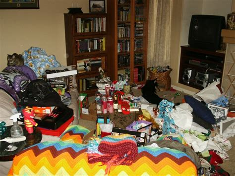 room gifts file untidy living room after unwrapping gifts jpg