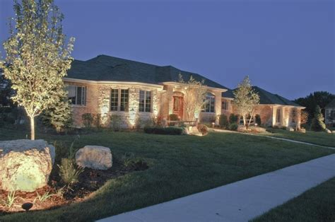 exterior house accent lighting 18 best images about house ground lighting on
