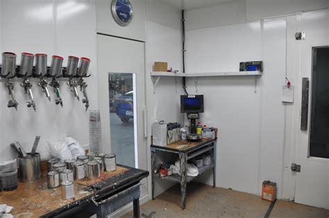 paint mixing room shop tour
