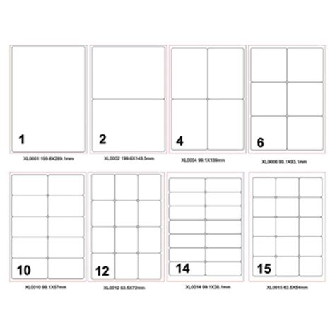 Printable Labels A4 | a4 printing labels stationery label