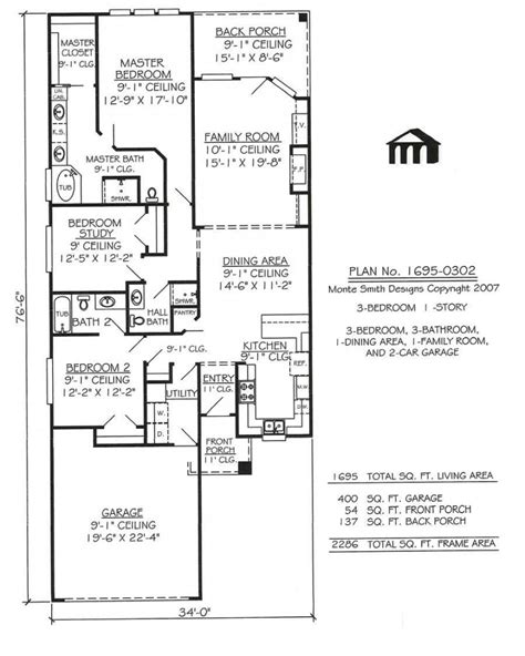 house plan drawings small house plans with garage luxury one story m ranch plan best luxamcc