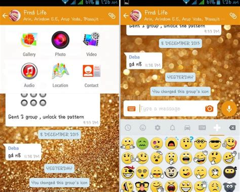 telecharger themes whatsapp t 233 l 233 charger whatsapp plus 5 5 gold edition telecharger