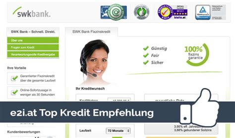 swk bank kredit ohne schufa kreditrechner e2i unabh 228 ngiger kredit vergleich