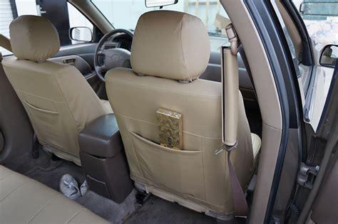 toyota custom seat covers toyota camry 1997 2001 leather like custom seat cover ebay