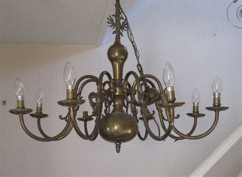 Flemish Brass Chandelier Antiques Atlas Flemish Chandelier Light