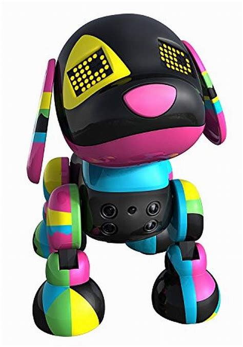zoomer robot zoomer puppy by spin master the robots web site