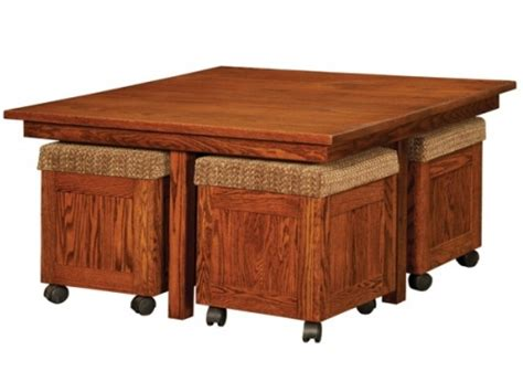 pull out table coffee table with pull out ottomans roy home design