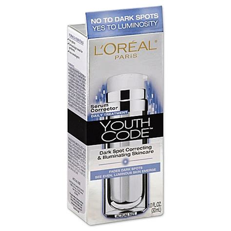 Serum Muka L Oreal l oreal 174 youth code 1 oz spot corrector serum bed