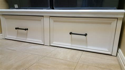 Diy Laundry Pedestal With Drawers by White Washer Dryer Pedestal With Flush Front Drawers