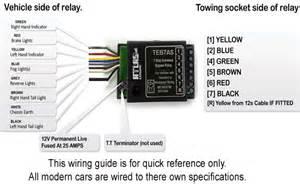 towbar universal electrics bypass relay
