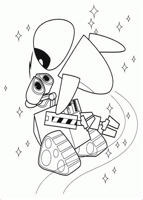 Wall E Coloring Pages by Wall E Coloring Pages Coloringpages1001