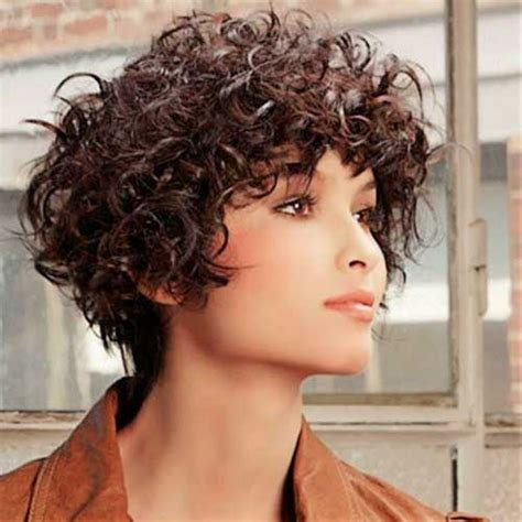 short hair cut curly large head 15 short haircuts for curly frizzy hair short hairstyles