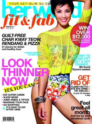 In Style Now How Got Slim Lifestyle Magazine 2 check out new get slim magazine from world world
