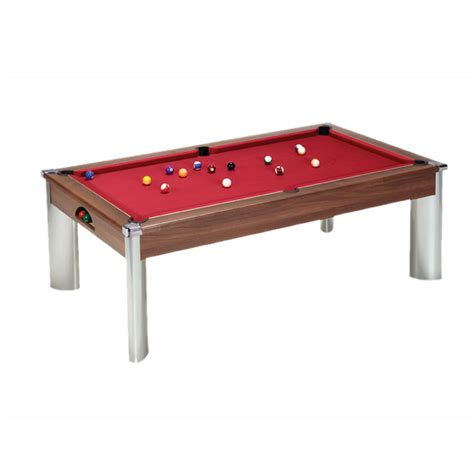 fusion dining and pool table walnut dpt fusion dining pool table leisure