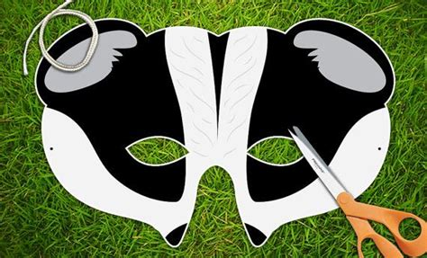 badger mask honey badger mask halloween mask