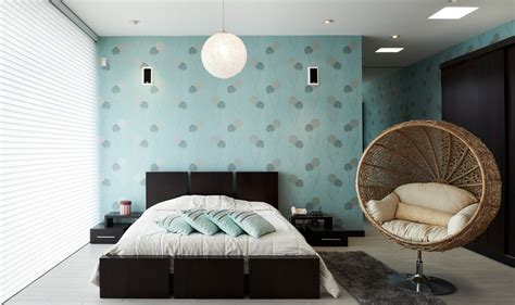 Bed Designer by Behangpapier In Een Modern Interieur Idee 235 N En Voorbeelden
