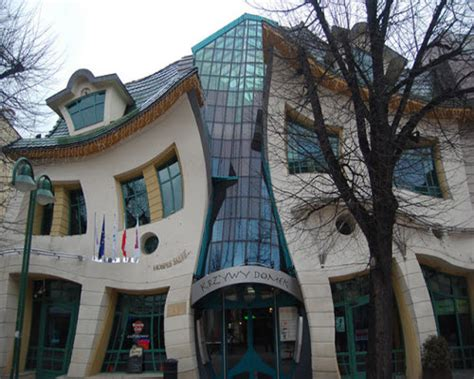 crooked house in sopot poland is like a children s book strange and odd building architectures