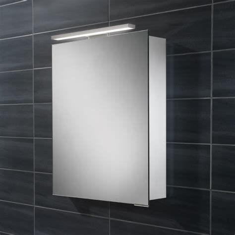 hib austin single door illuminated bathroom mirrored cabinet hib proton single door illuminated bathroom cabinet 44800