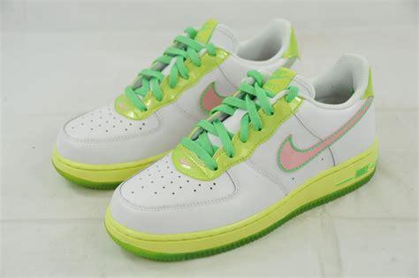 nike air 1 gs 314219 163 white pink lime