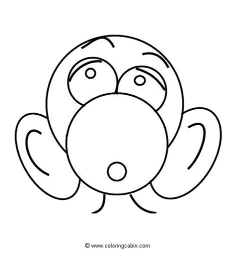 coloring cabin free printable animal faces coloring pages