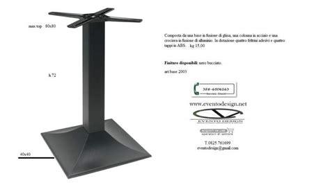 piedistalli per tavoli base in ferro ghisa per tavoli da bar a benevento kijiji
