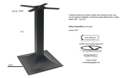 basi in ferro per tavoli base in ferro ghisa per tavoli da bar a benevento kijiji