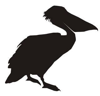 pelican boat stickers pelican silhouette decal sticker