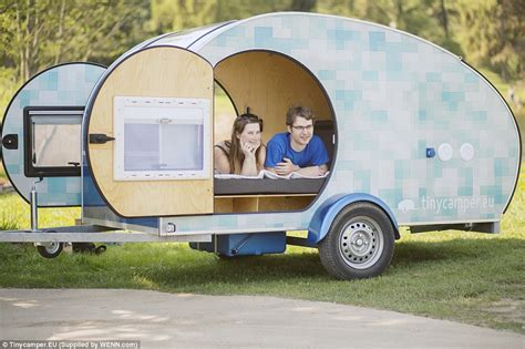 small caravan this adorable small caravan is the perfect cozy travel pod