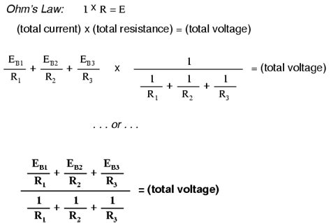 how to find voltage and current through a resistor millman s theorem revisited