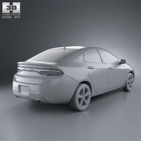 Dodge Dart 2013 3D Model .max .obj .3ds .fbx .c4d .lwo .lw