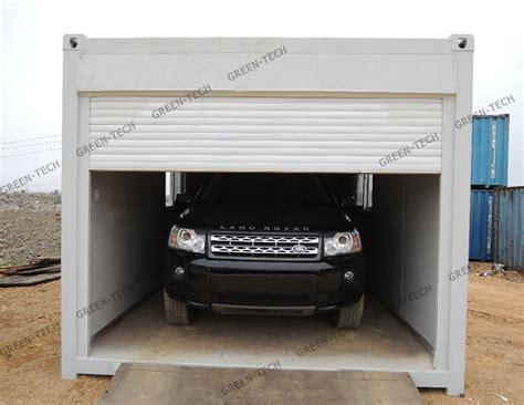 container als garage ch la027 stalen structuur prefab zeecontainer garage voor