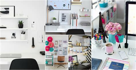 clever desk organization ideas to keep it clutter free