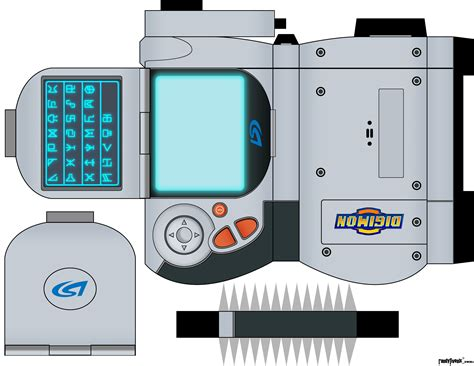 Digimon Digivice Papercraft - digimon digivice papercraft www pixshark images