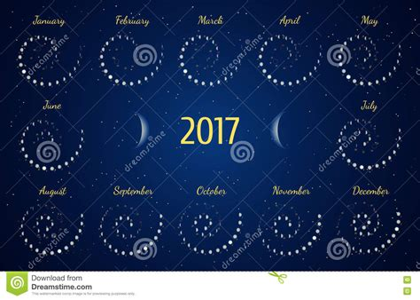 Moon Phase Calendar Monthly Moon Phases Zodiac Calendar February 2017 2017