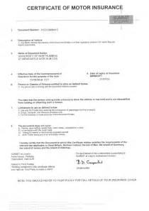 Car Insurance Certificate Template by 9 Best Images Of Auto Insurance Certificate Sle