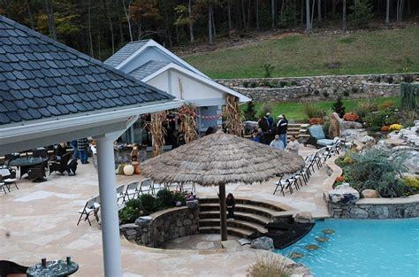 Tiki Hut Backyard Sunken Seating Areas That Spark Conversations