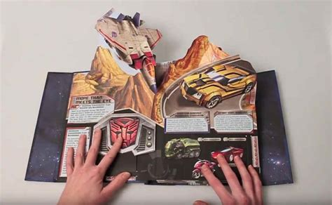 libro pop art basic art libro pop up de los transformers por su treinta aniversario