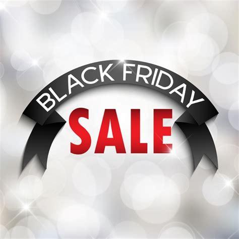 black friday light sale black friday sale background with bokeh lights vector