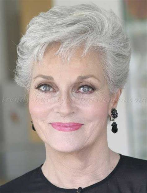 haircuts for thin gray hair over 50 20 short hair styles for over 50 short hairstyles 2016