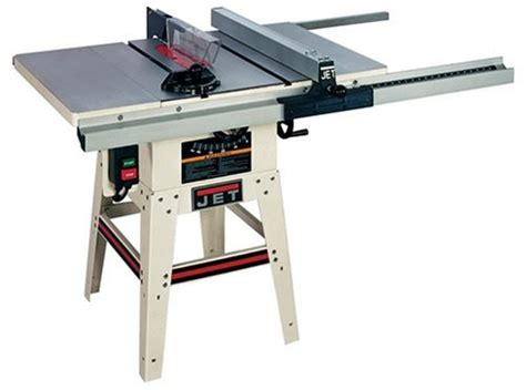 jet contractor table saw jet 708471 jwts 10lfr 10 inch 1 1 2 hp contractor saw with