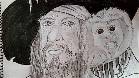 barco pirata dibujo a lapiz dibujo de capit 225 n barbosa piratas del caribe youtube