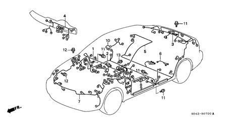 1996 honda civic engine wiring harness diagram 1998 honda