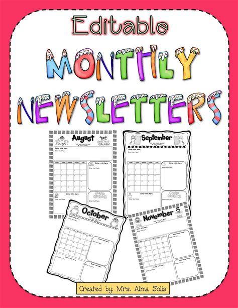 school newsletter templates free free daycare newsletter templates best business template