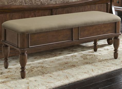 furniture bench seat bed bench with upholstered seat by liberty furniture