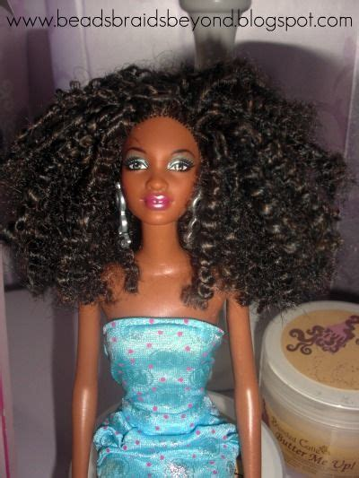 how to do puming hairs turning barbies into natural hair dolls kinky hair 10