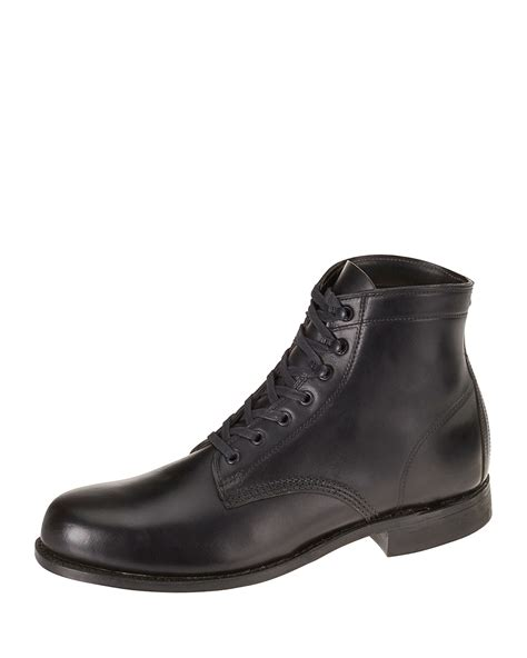 wolverine boots 1000 mile wolverine 1000 mile leather boot in black for lyst